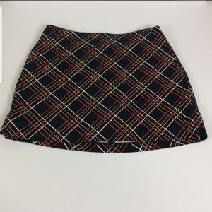 Lady Hagen Multi Color Golf Skirt/Skort  Sz 10